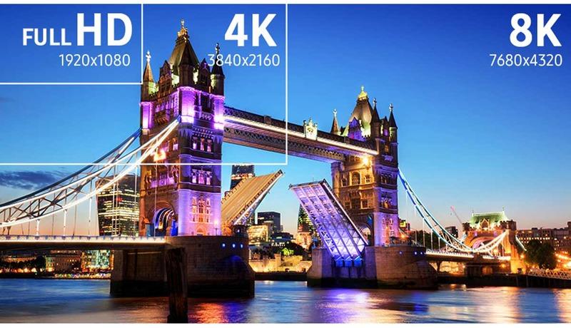 Samsung FullHD-4K-8K