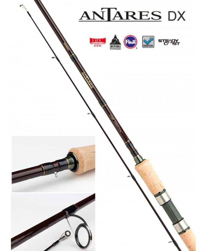 SHIMANO ANTARES DX SPINNING 2.40M 10-30ГР