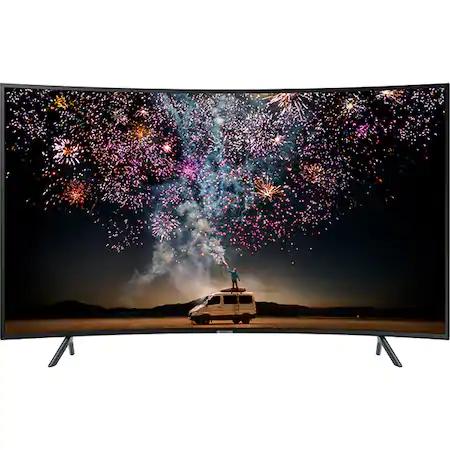 Телевизор LED Smart Samsung, Извит, 55″ (138 см), 55RU7372, 4K Ultra HD