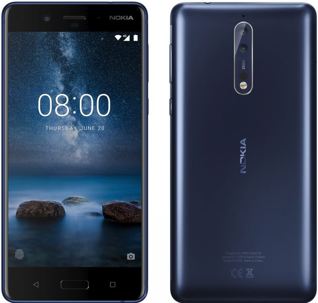СМАРТФОН NOKIA 8 DS BLUE