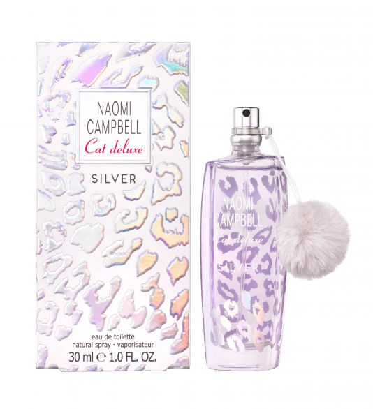 NAOMI CAMPBELL CAT DELUXE SILVER Тоалетна вода за жени, 30 мл