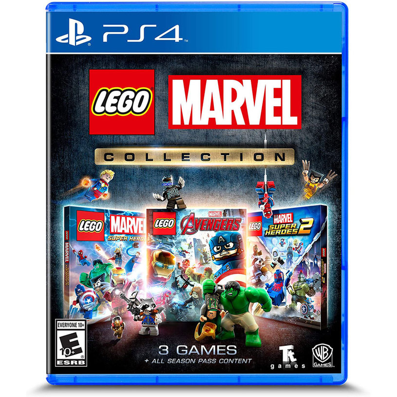 Игра LEGO MARVEL COLLECTION PS4