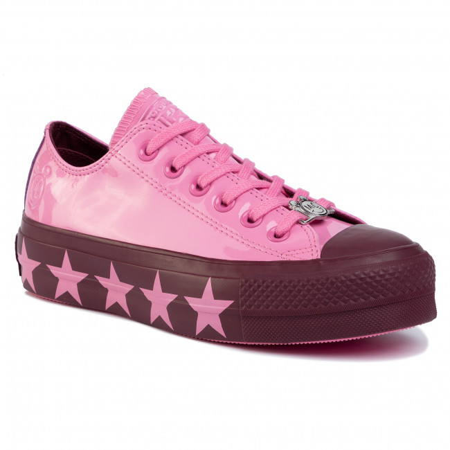 Кецове CONVERSE Ctas Lift Ox 563718C Pink/Dark Burgundy/Pin