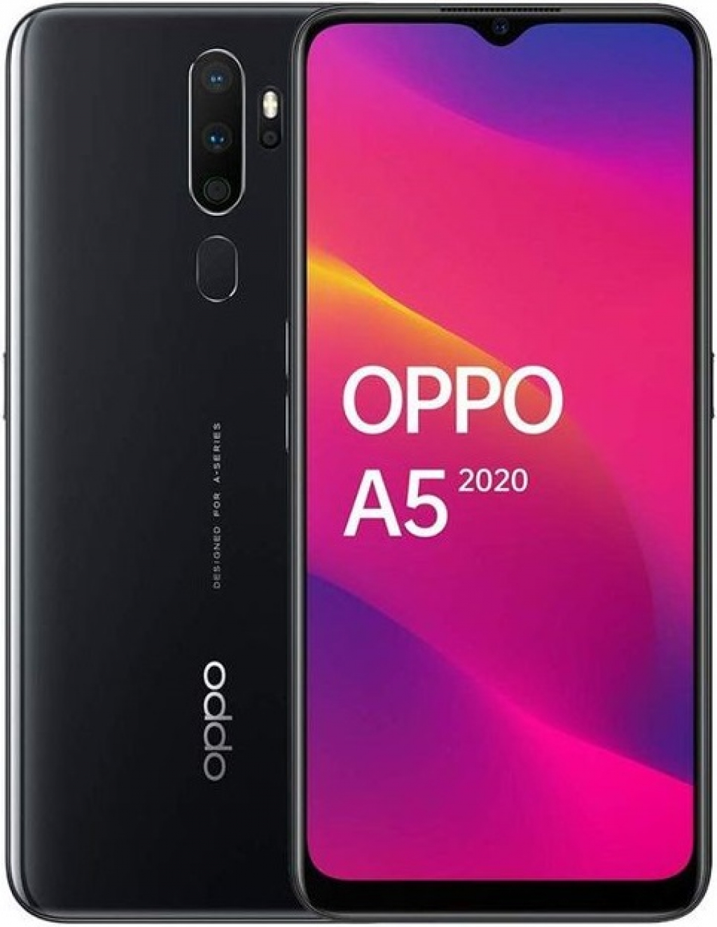 СМАРТФОН OPPO A5 2020 3/64GB MIRROR BLACK