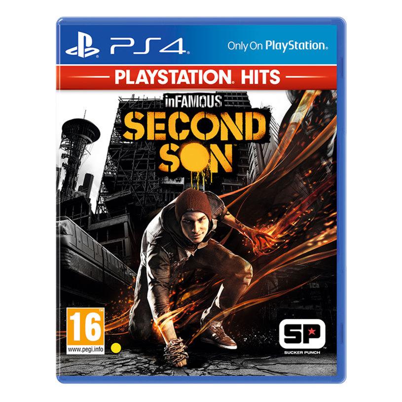 Игра INFAMOUS SECOND SON PS4
