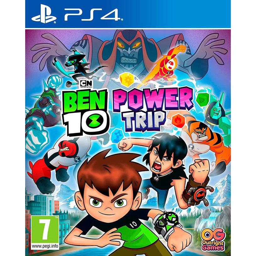 Игра BEN 10 POWER TRIP PS4