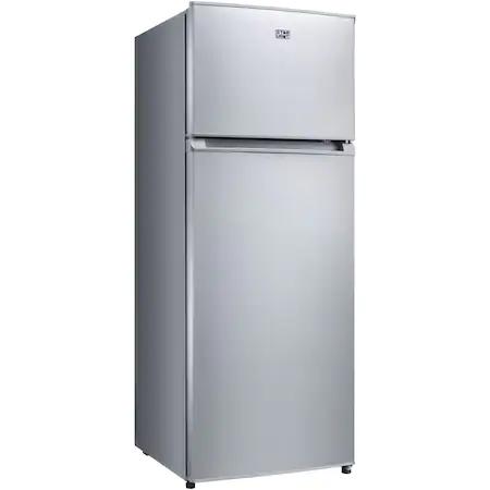 Хладилник с 2 врати Star-Light CDD-210GR, 204 л, Клас A+, В 143 см, Сив