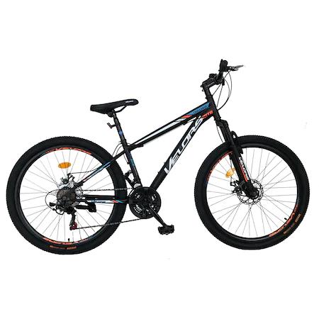 Велосипед MTB Velors 26″ V2610A HT, Черен/Бял/Оранжев