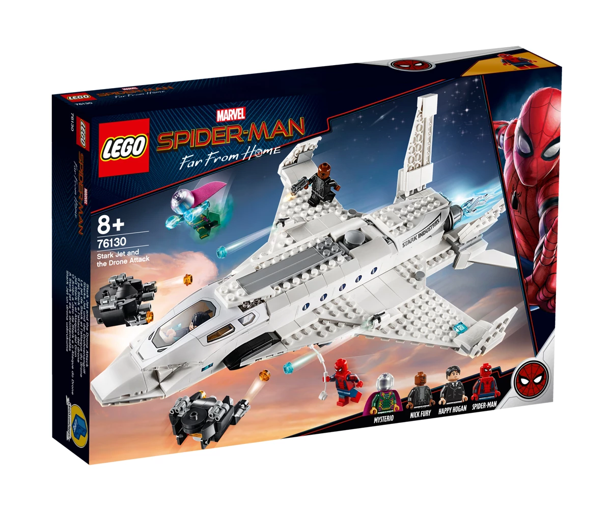 LEGO DC Comics Super Heroes Stark Jet и нападение с дрон