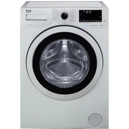 Пералня Slim Beko WUE7636X0A, 7 кг, 1200 об/мин, Клас A+++, Motor ProSmart Inverter, HomeWhiz Bluetooth, AddXtra, Hygiene+, Silent Tech, 49 см, Сив
