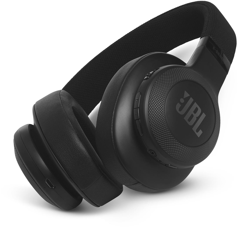 Bluetooth слушалки JBL E55BT, Черни