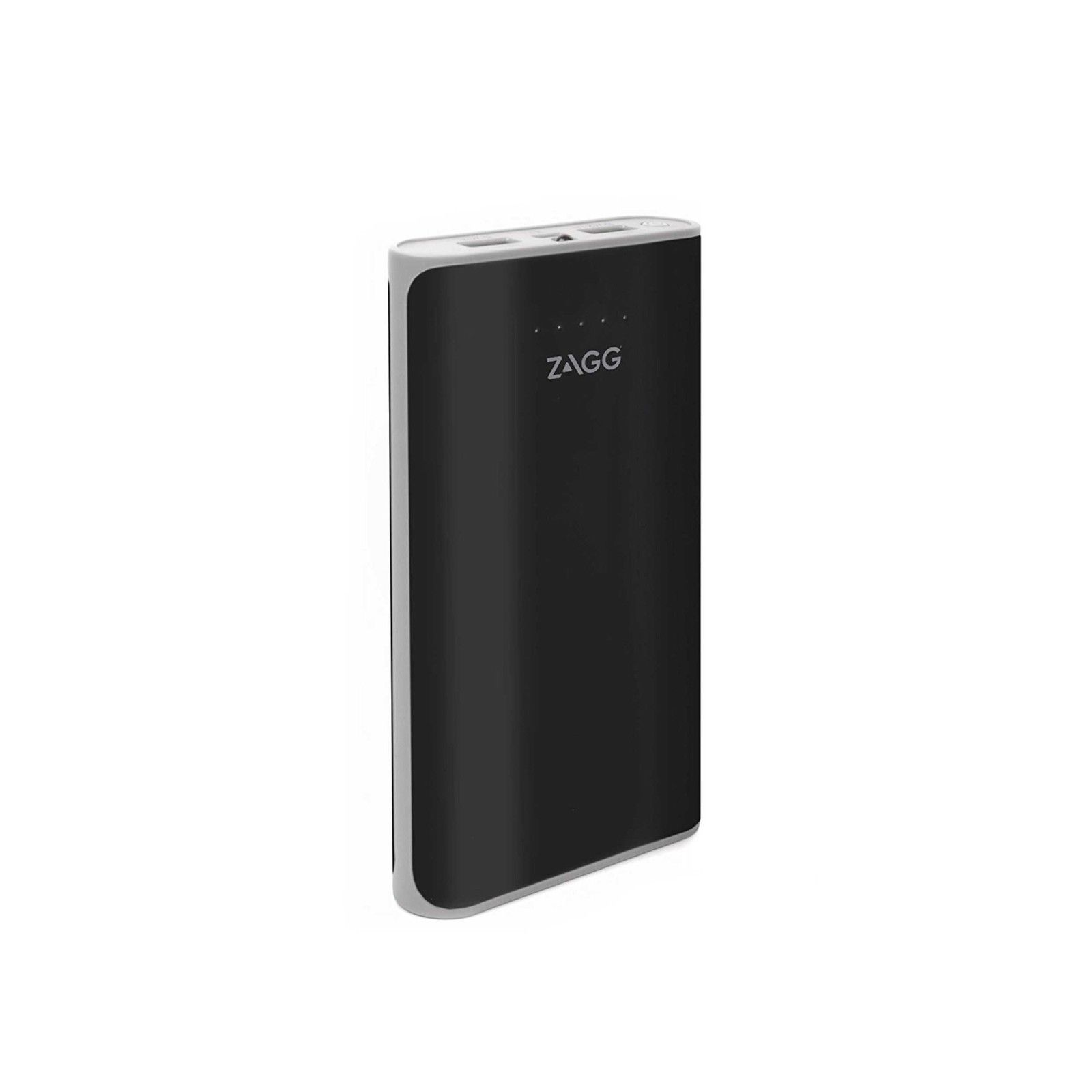 Zagg Ignition 12 Power Bank външна батерия 12000mAh с 2 USB изхода за зареждане на мобилни устройства и фенерче