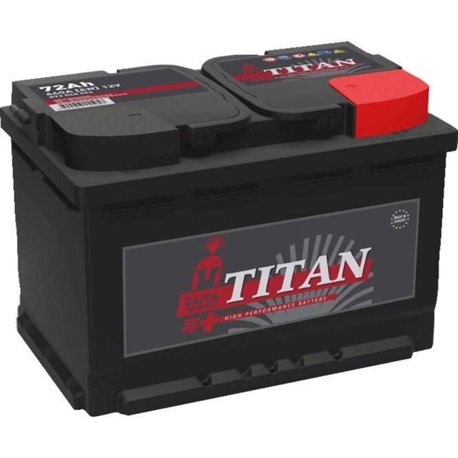 TITAN Акумулатор