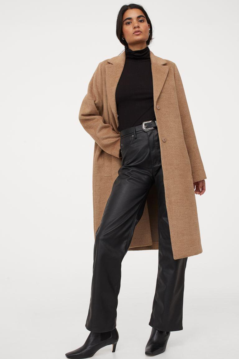 Палто с дължина до коляното H&M