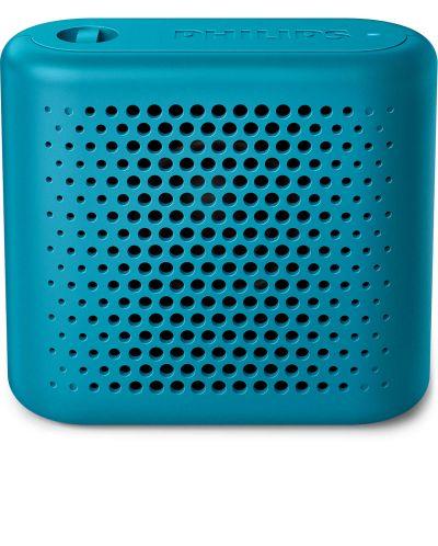 Мини колонка Philips BT55A – безжична, синя