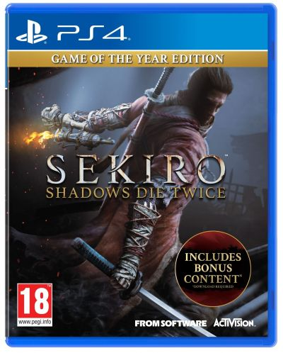 Sekiro Shadows Die Twice – Game of the Year Edition (PS4)