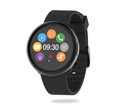 Смарт часовник MyKronoz ZeRound2, черен