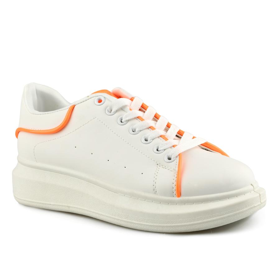Дамски ежедневни обувки бели Tendenz