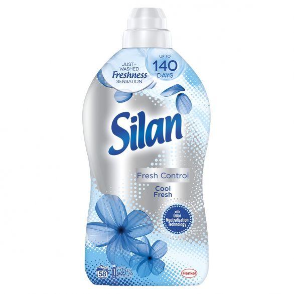 SILAN омекотител за дрехи Cool Fresh 1,45л, 58 пранета