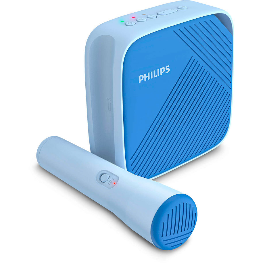 Bluetooth колонка PHILIPS TAS4405N 3 W, BLUETOOTH, БАТЕРИЯ ДО 6 ЧАСА, СИН