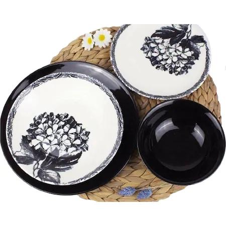 Сервиз за хранене Morello,24 части,Black Lilac