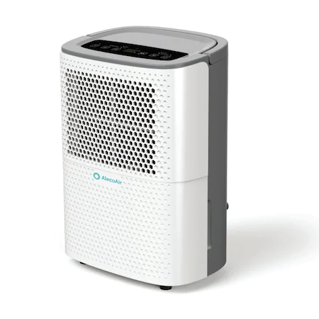 Влагоабсорбатор AlecoAir D12 HOME,12 л /24ч, сушене на пране, цифров дисплей, хигростат, таймер, дебит 120 м3/ч