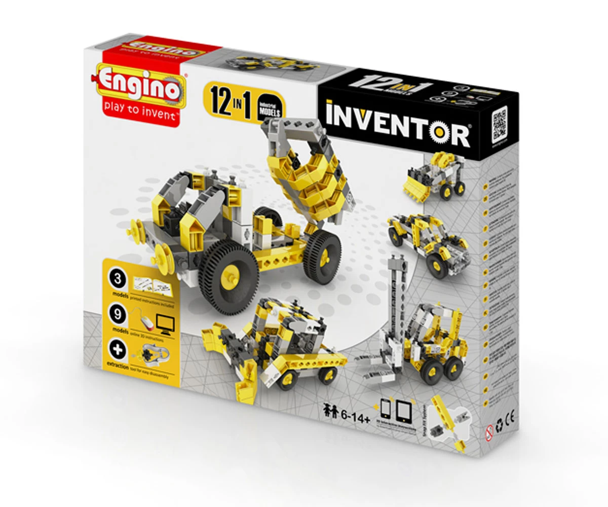 Енджино Изобретател – 12 модела индустриални машини