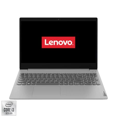 Лаптоп LENOVO IdeaPad 3 15IIL05, 15.6″, Intel® Core™ i3-1005G1, RAM 8GB, SSD 512GB, Intel® UHD Graphics, Free DOS, Platinum Grey