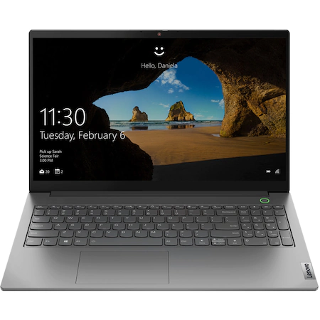 Лаптоп LENOVO ThinkBook 15 G2 ARE, 15.6″, AMD Ryzen™ 5 4500U, RAM 8GB, SSD 256GB, AMD Radeon™ Graphics, Free DOS, Mineral Grey