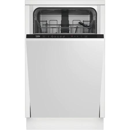 Съдомиялна за вграждане Beko DIS35023, 10 комплекта, 5 програми, Extra Drying, Quick&Shine™, Flexible HalfLoad™, Клас A++, 45 см