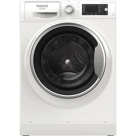 Пералня Hotpoint Natis NLCD945WSAEUN, 9 кг, 1400 об/мин, Клас A+++, Steam Refresh, Steam Hygiene, Инверторен мотор, Дисплей LCD, Бял