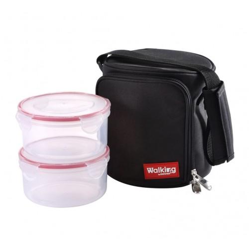 Чанта за обяд Bergner с 2 кутии по 800 мл