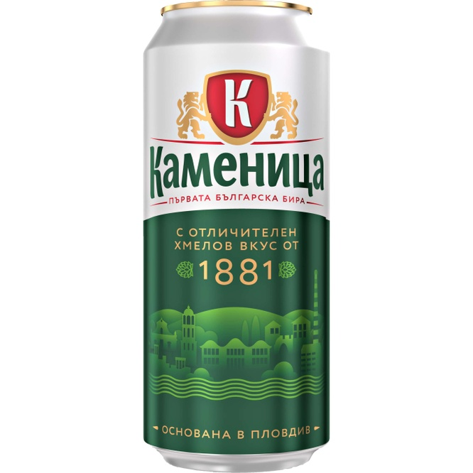 КАМЕНИЦА Светло пиво Kaufland