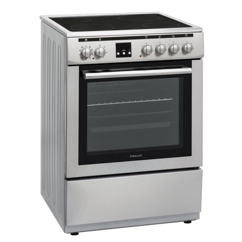 Готварска печка Finlux FLCM 6000A IX, INOX , Керамични