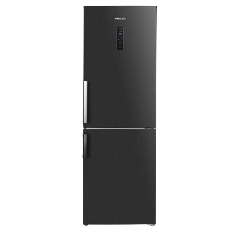 Хладилник с фризер Finlux FBND-315HIX, 315 l, A+ , No Frost , Инокс