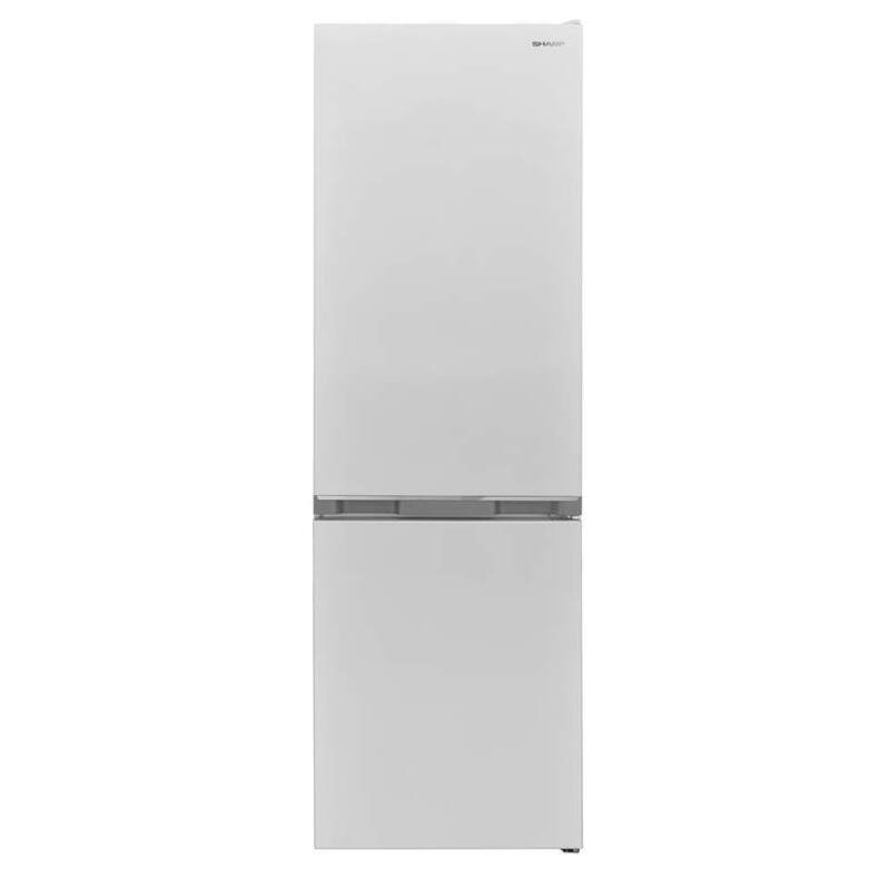Хладилник с фризер Sharp SJ-BB04DTXWF, 268 l, A+ , Статична