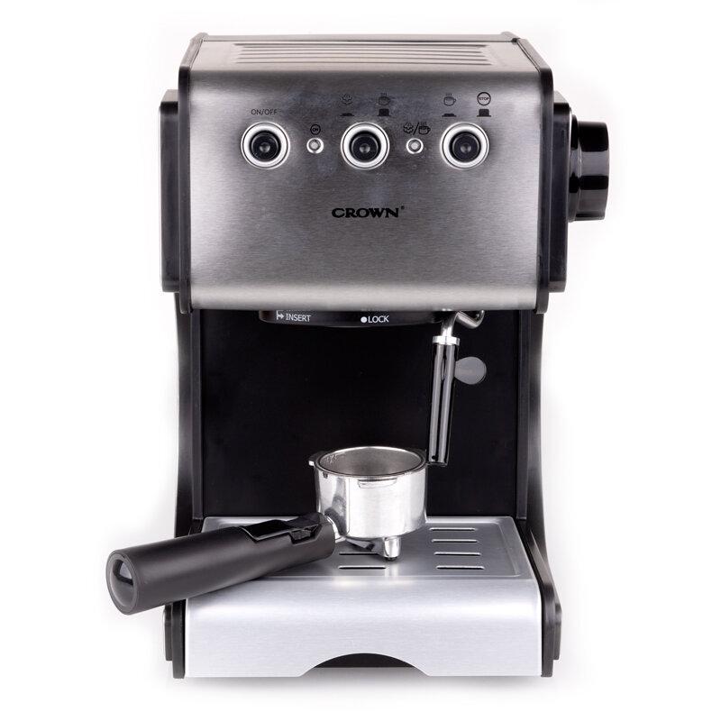 Кафемашина Crown CEM-1524, 1050 W, 15 Bar, Еспресо