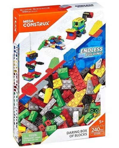 Конструктор Mega Construx Building Bricks- Daring Box, 240 части