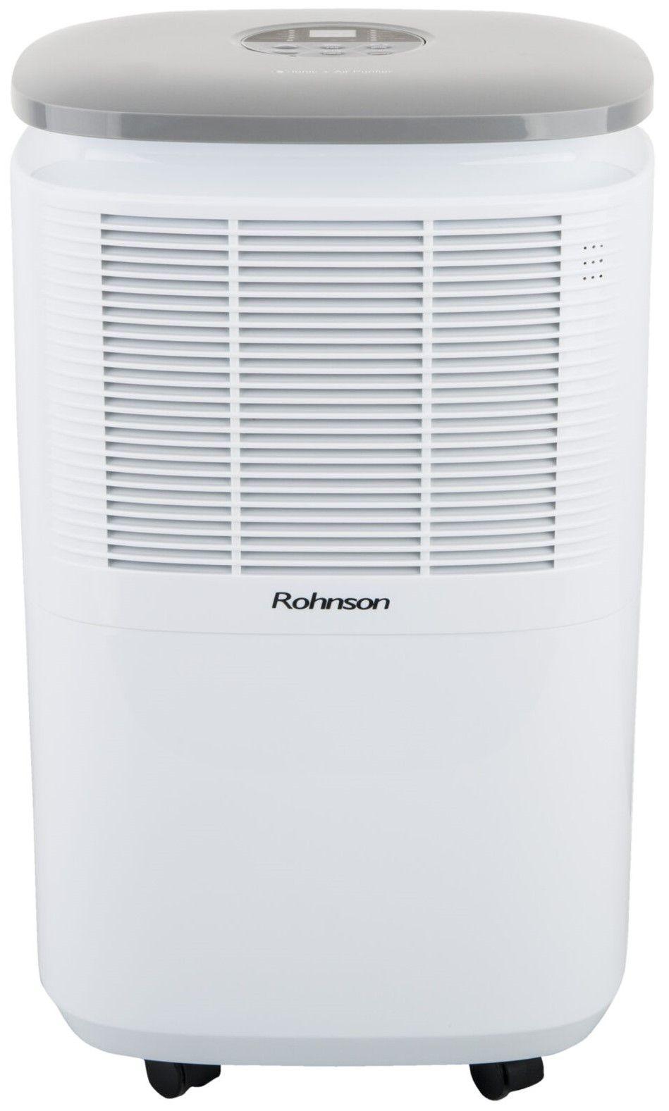 Обезвлажнител с пречиствател Rohnson R 9912, 2.5l, 210W, бял