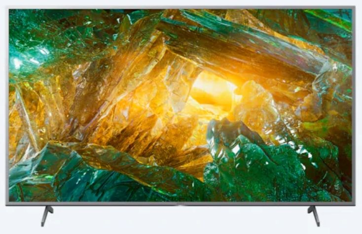 Смарт телевизор Sony Bravia KD 49XH8077, 4K, сребрист