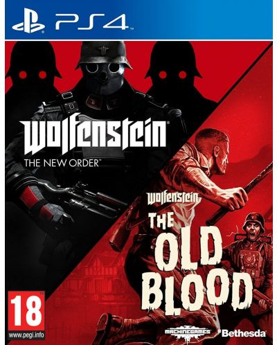 ИГРА WOLFENSTEIN THE NEW ORDER AND THE OLD BLOOD (PS4)