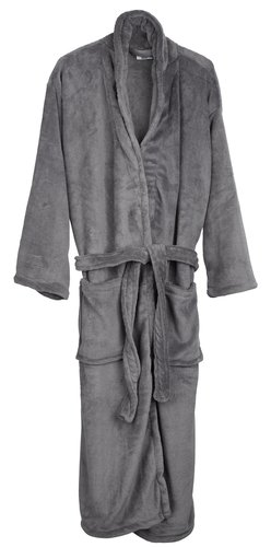 LARV халат L/XL тъмно сив