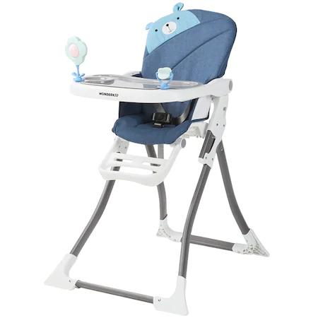 Столче за хранене Wunderkid Happy, Син