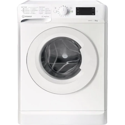 Пералня Slim Indesit MTWSE61252WEE, 6кг, 1200 об/мин, Клас F, MyTime, Fast Cycles, Бял