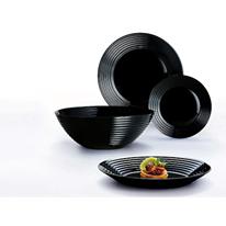 Сервиз за хранене Luminarc Harena Black 19 части