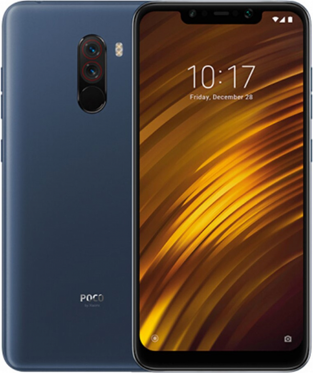 СМАРТФОН XIAOMI POCOPHONE F1 6/128GB DS BLUE