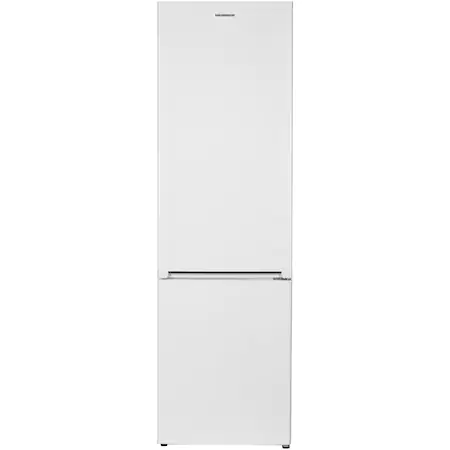Хладилник с фризер Heinner HC-V286F+, 286 л, Клас A+, Технология Less Frost, LED осветление, Механично управление, Регулируем термостат, H 180 см, Бял
