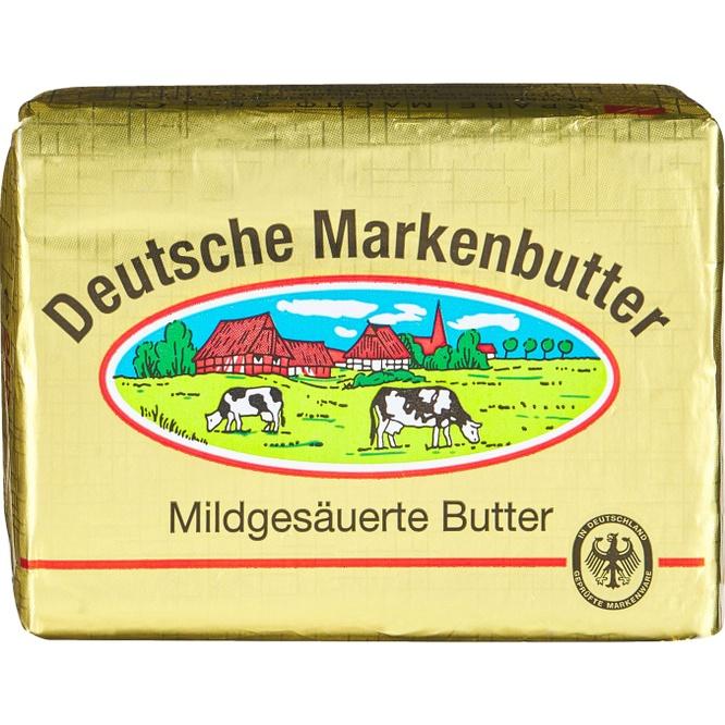 Краве масло DEUTSCHE MARKENBUTTER Kaufland