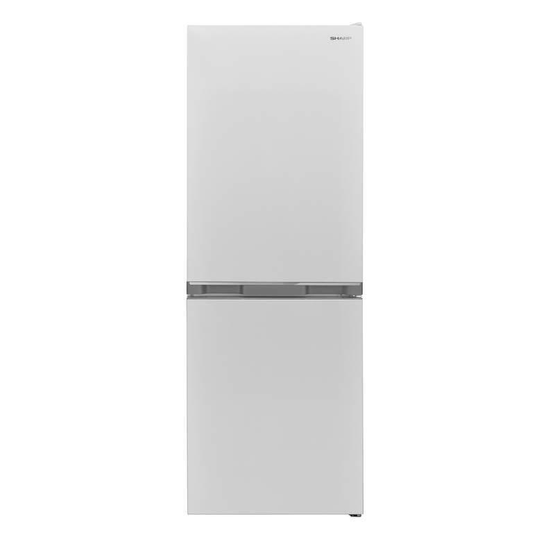 Хладилник с фризер Sharp SJ-BB02DTXWF , 230 l, F , Бял , Статична