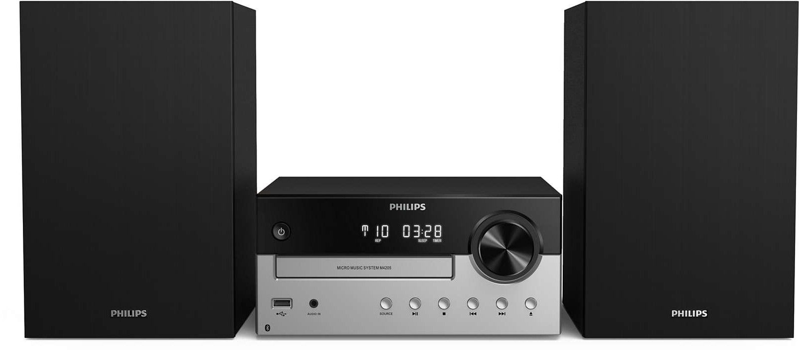 Мини аудио система Philips TAM4205/12 – черна